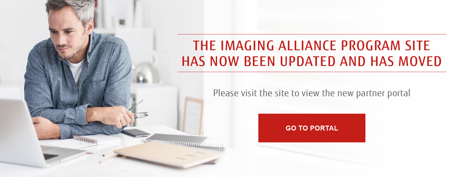 Imaging Alliance Portal is undergoing maintenance